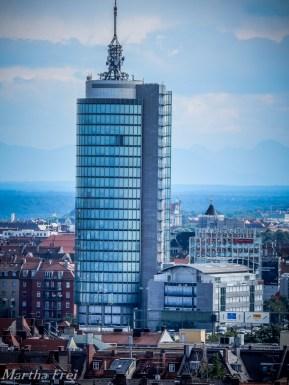 Der Central Tower an der Donnersberger Brücke