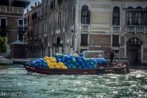 Mülltransport a la Venezia