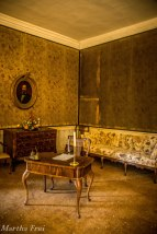Im Schlafzimmer des ital. Königs Vittorio Emmanuele II.