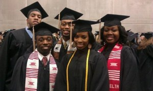 Graduation with friends from CMU