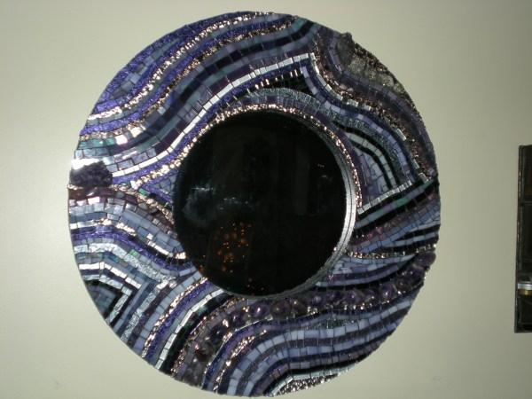 Mosaic Mirrors & Boxes Shell Design