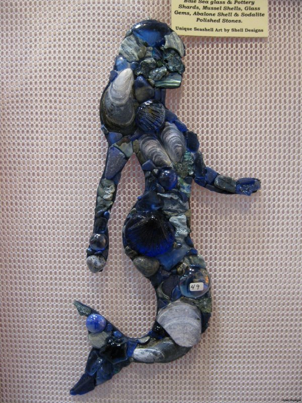 Mermaid Shell Mosaic