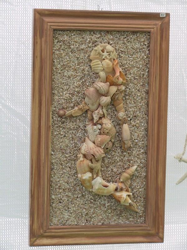 Mermaid Seashell Mosaic