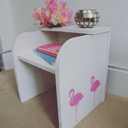 Flamingo Small Bedside Table, £29