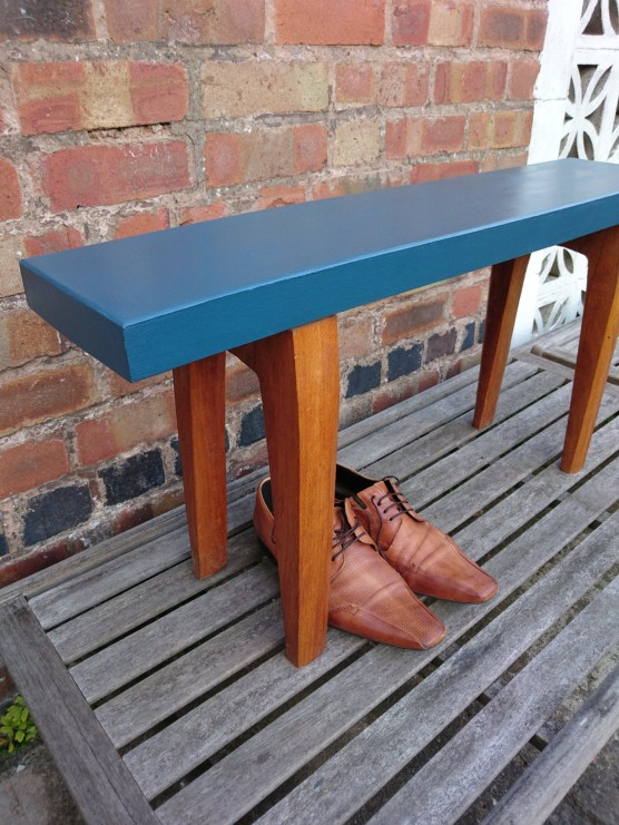 French Navy Sold Wood Bench, £59