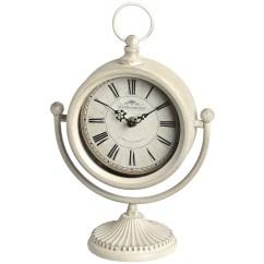 Cream Swinging Mantel Clock, £20