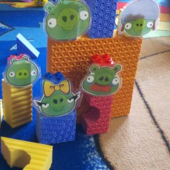 Shell Chair Knock Off Gray Velvet Dining Chairs Happy About Angry Birds | Preschool Playtime