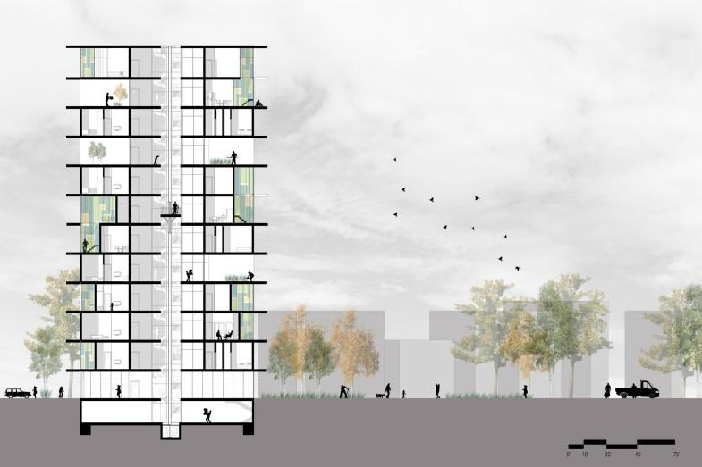 Housing_Cross Section