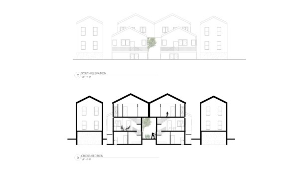 Infill Strategy_South Elevation & Section