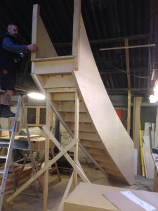 Curved Stairs By Moosejaw Woodworks2