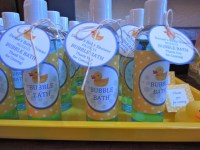 Rubber Ducky Baby Shower | Party Favors Ideas