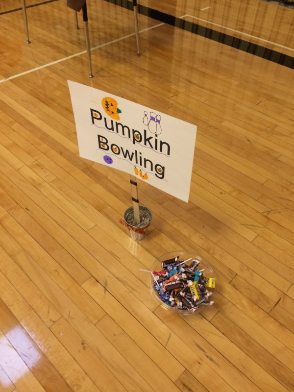 Pumpkin Bowling Game