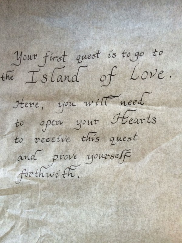 Quest to the Island of Love (Heart)