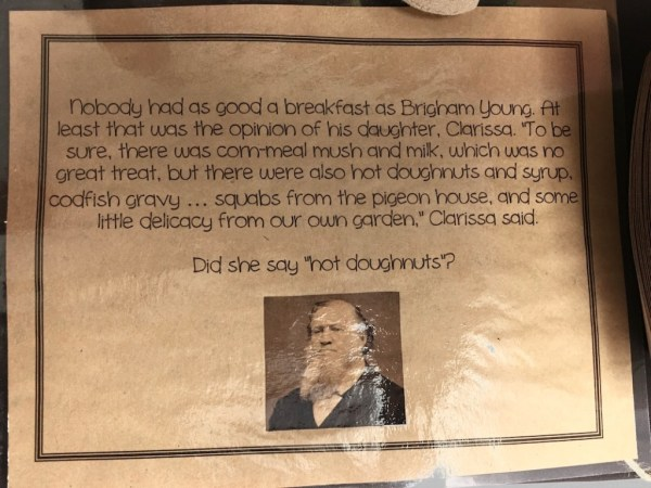 New Beginnings Press Forward With A Steadfastness in Christ info Brigham's doughnuts