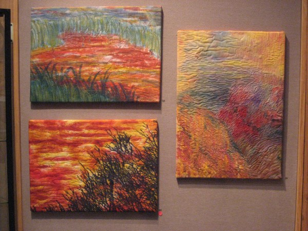 Contemporary Textile Art Surround With Serenity