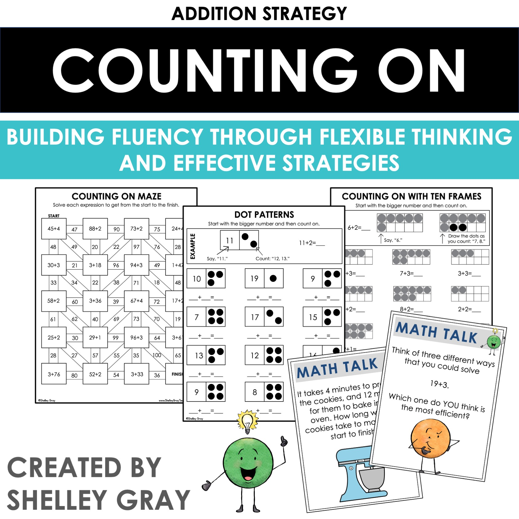 hight resolution of Counting On: An Addition Strategy - Shelley Gray