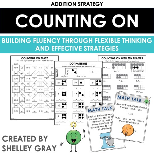 small resolution of Counting On: An Addition Strategy - Shelley Gray