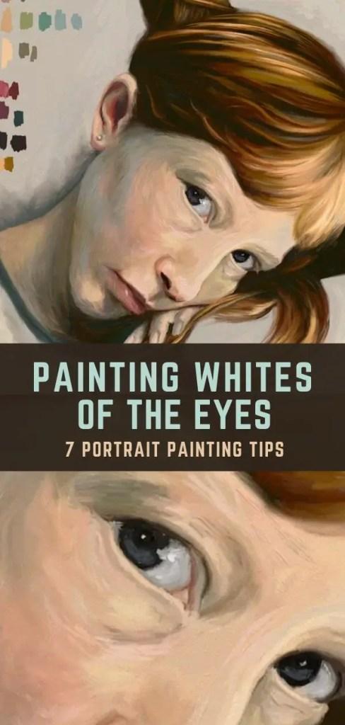 portrait tip eyes pin