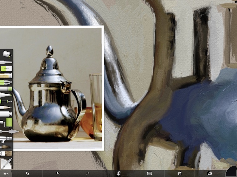 painting silver objects step-by-step