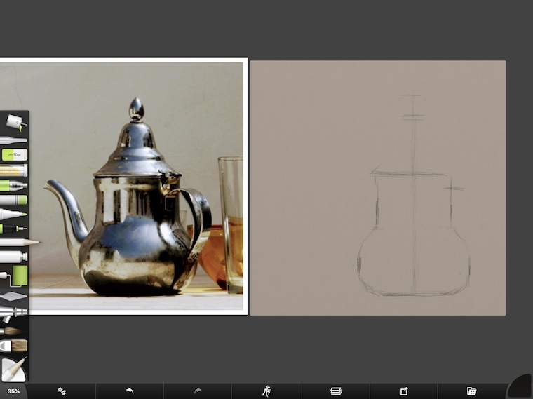 tips for painting shiny things digitally in ArtRage