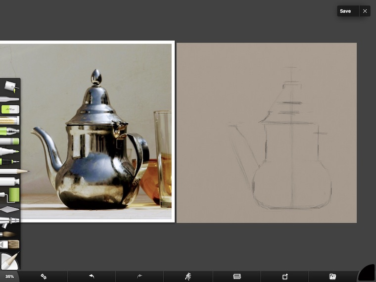 tips for painting silver digitally in ArtRage 4