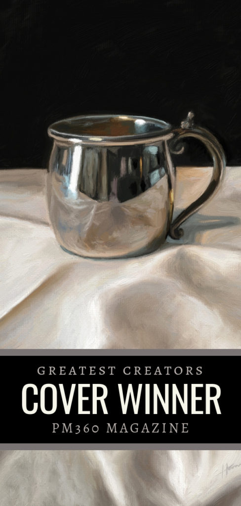 "2019 Greatest Creators Cover Winner ""Silver Cup"" by Shelley Hanna"