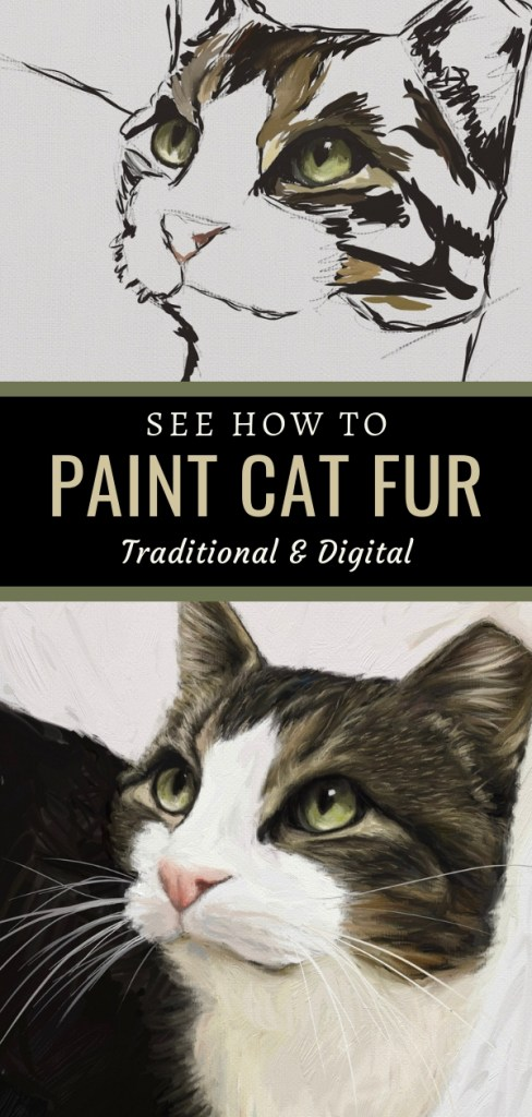 Tippy Cat Art Tutorial Pin 2