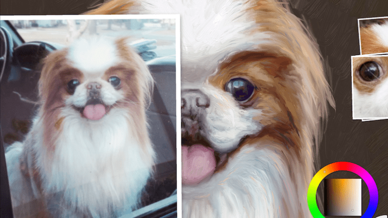 Step 11 painting a japanese chin