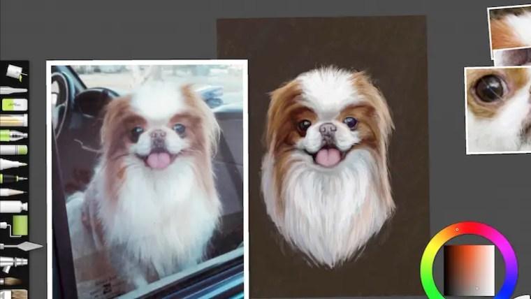 Step 12 painting portrait
