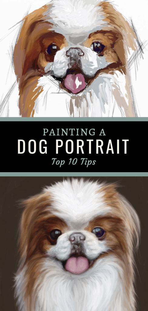 dog painting pin top 10