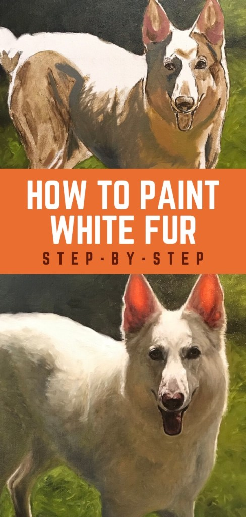 paint white fur pin 2