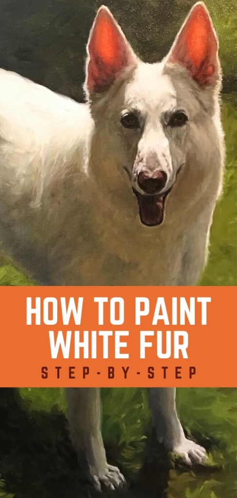 paint white fur pin 3