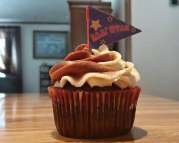 Baby David's Birthday Cupcakes