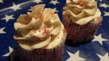 4th of July Watermelon Cupcakes