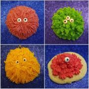 Monster Sugar Cookies