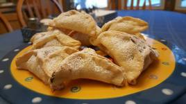 Date & Chocolate filled Hamantaschen
