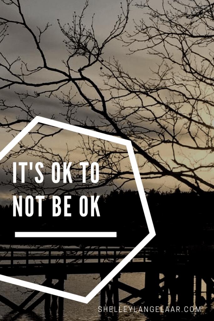It's ok to not be ok spiritual journey