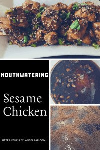 Easy low carb sesame chicken recipe