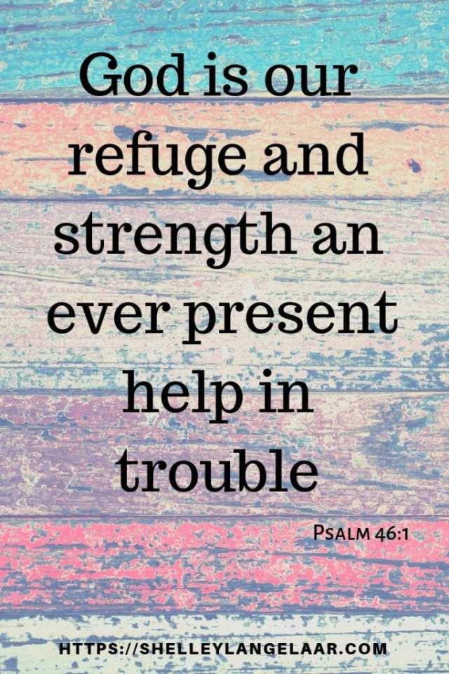 Bible verse on fear