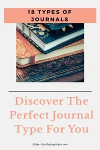 18 different types of journals to keep