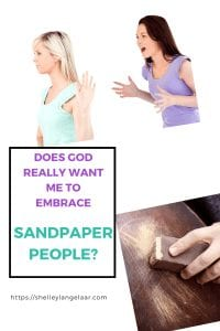 How to deal with sandpaper people