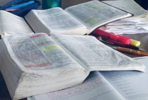 January scripture Writing plan