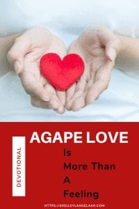 Love the one I don't like with agape love
