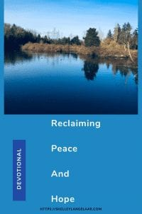 Reclaiming my peace and hope after losing it to Covid-19