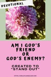 Am I God's Friend or Enemy? Christian Devotional