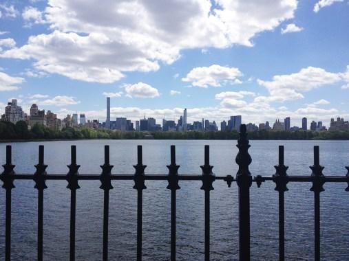 Skyline from Central Park Reservoir