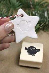 Robin Air Dry Clay Star | Shelley Makes