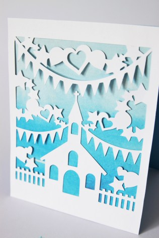 DIY Paper-Cut Christening Card (15)