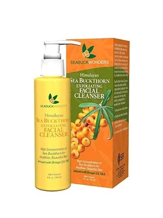 Seabuckthorn Exfoliating Facial Cleanser
