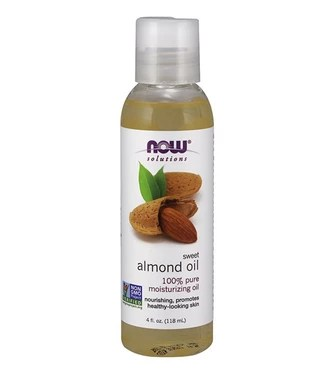 Sweet Almond Oil by Now Solutions